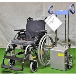 Scalamobil S25 mit Rollstuhl