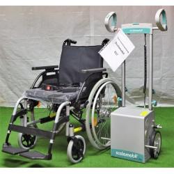 Scalamobil S27 mit Rollstuhl