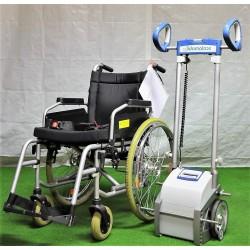 Scalamobil S30 mit Rollstuhl